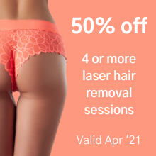 Laser Hair Removal - April 21